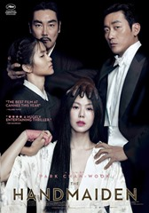 THE HANDMAIDEN, (aka AH-GA-SSI), US poster, from top left: JO Jin-woong, KIM Tae-ri, KIM Min-hee, HA Jung-woo, 2016. ©Magnolia Pictures/courtesy Everett Collection