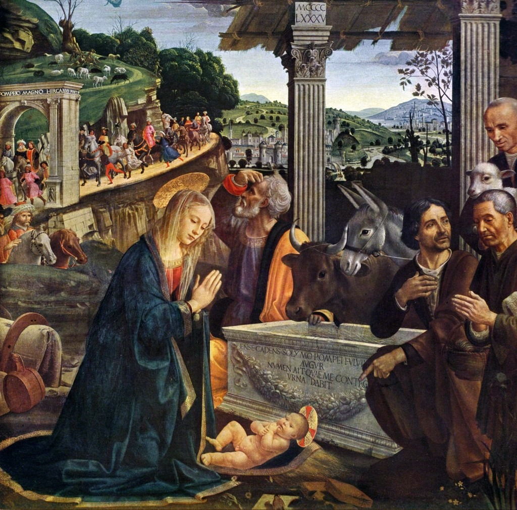 domenico-ghirlandaio-nativity-and-adoration-of-the-shepherds-sassetti-chapel-panel-altarpiece-1485