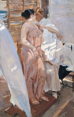 Joaquín_Sorolla_y_Bastida_-_The_Pink_Robe._After_the_Bath_-_Google_Art_Project