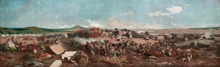 MARIANO_FORTUNY_-_La_Batalla_de_Tetuán_(Museo_Nacional_de_Arte_de_Cataluña,_1862-64._Óleo_sobre_lienzo,_300_x_972_cm)